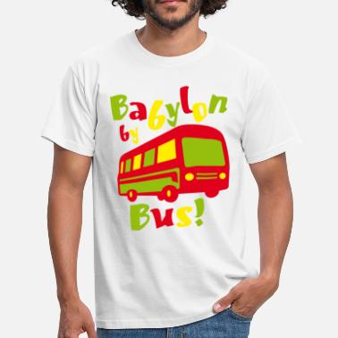 Bob Babylon by bus - Männer T-Shirt
