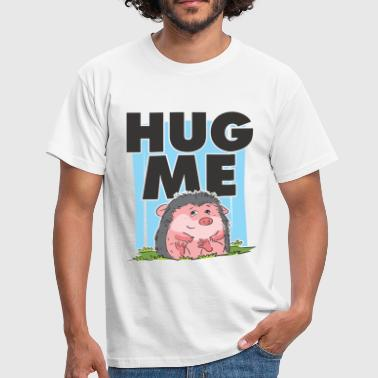 HUG ME CUTE HEDGEHOG - T-shirt Homme