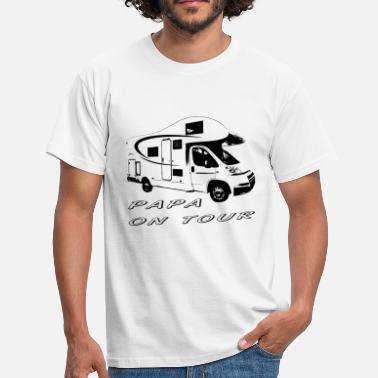 On Tour Papa on tour - Men's T-Shirt