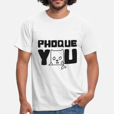 Fuck France France Humour fuck you phoque you N - T-shirt Homme