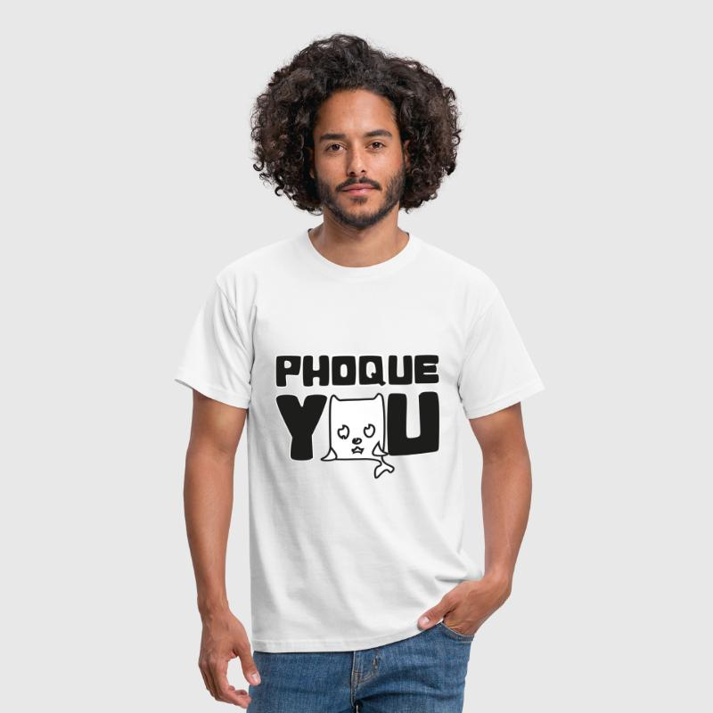 France Humour fuck you phoque you N - T-shirt Homme