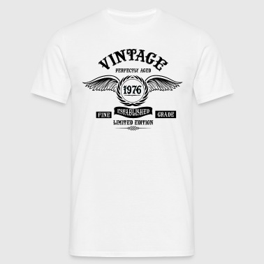 Vintage Perfectly Aged 1976 - Men's T-Shirt