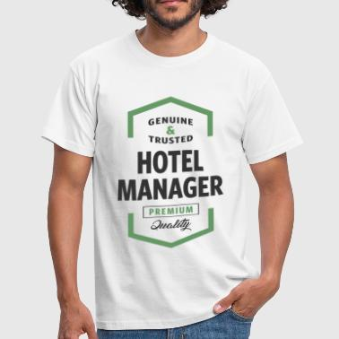 Hotel Manager Logo Tees - Men's T-Shirt