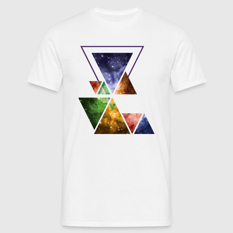 Art Triangle Galaxy - Men's T-Shirt