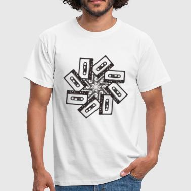 Cassette Whirl - Men's T-Shirt