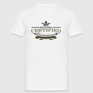 certified grimewear (K) - Men's T-Shirt