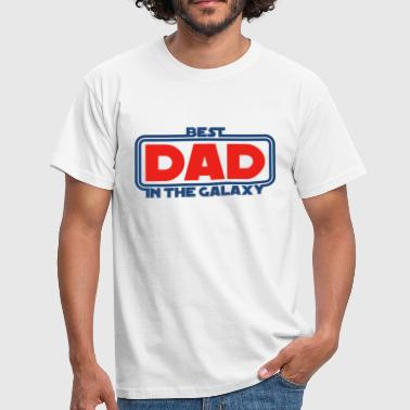 Best Dad in the Galaxy - T-shirt Homme