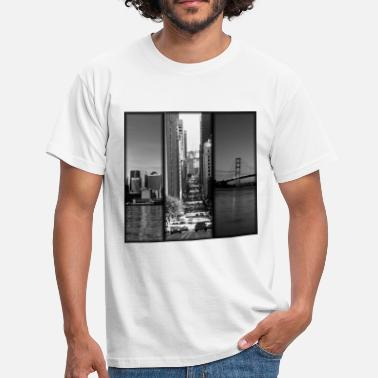 Montage Photo San Francisco.jpg Tee shirts - T-shirt Homme