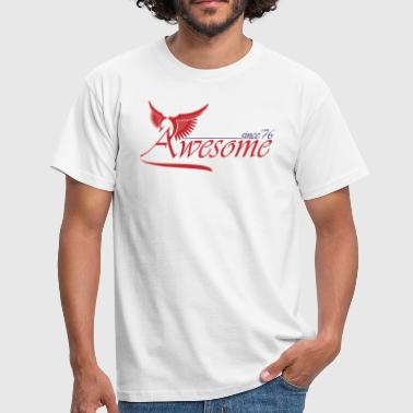 Since 1976 Awesome SINCE 1976 - Men's T-Shirt