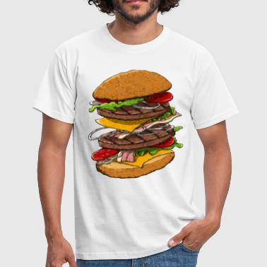Hamburger - T-shirt Homme
