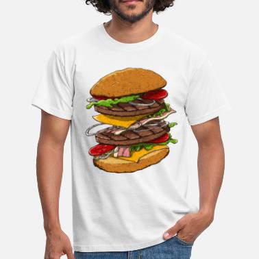 Hamburger Hamburger - T-shirt Homme