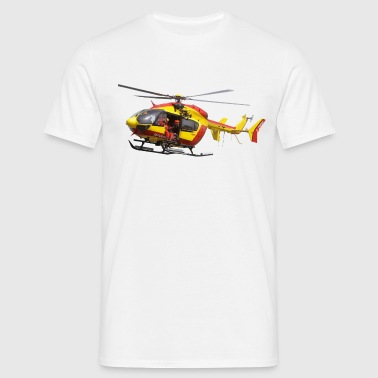 helicopter EC145 civil security - Men's T-Shirt