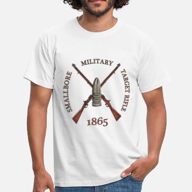 MILITARY TARGET RIFLE - Mannen T-shirt
