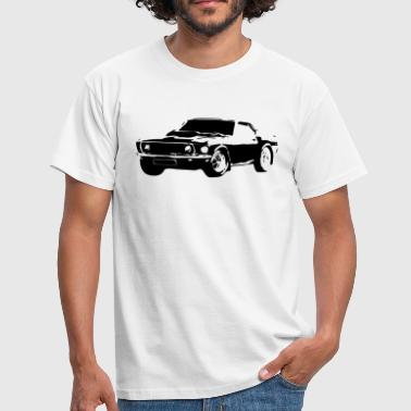 Muscle Car Mustang - Men's T-Shirt