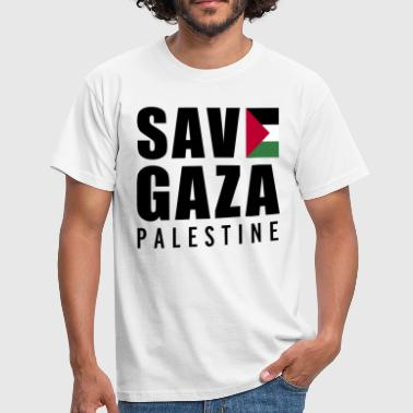 Free Palestine Save Gaza - Palestine  - Men's T-Shirt