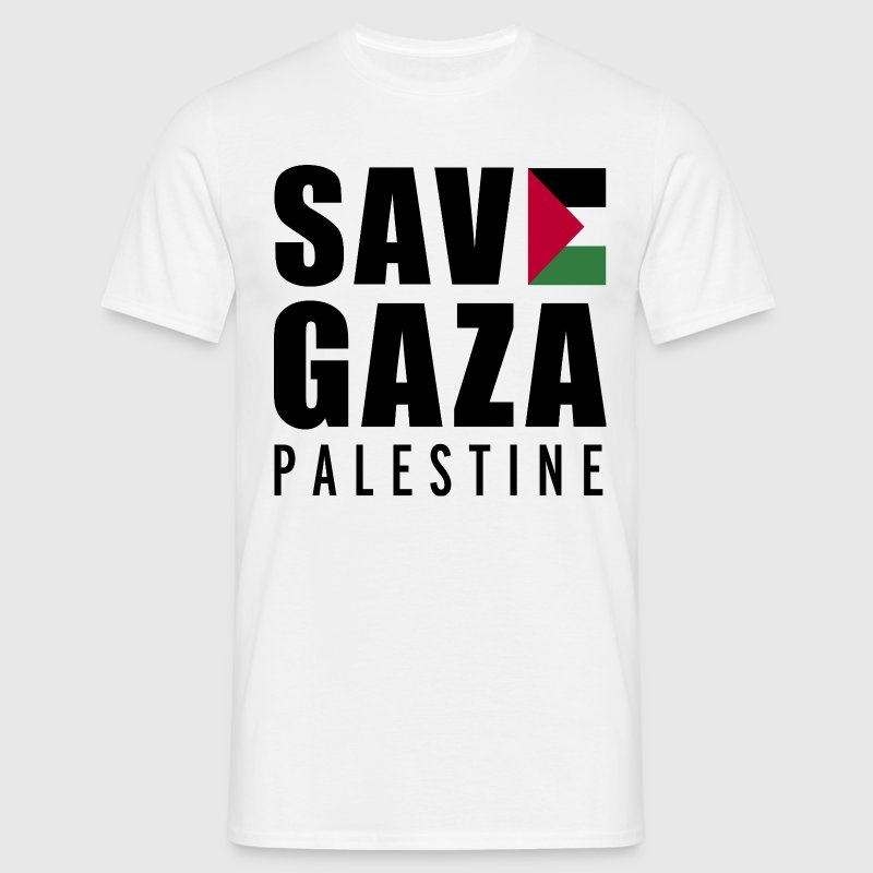 Save Gaza - Palestine  - Men's T-Shirt
