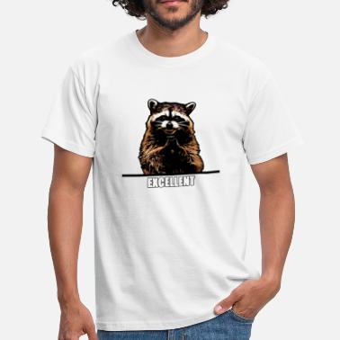 Raccoon Evil Raccoon - Men's T-Shirt