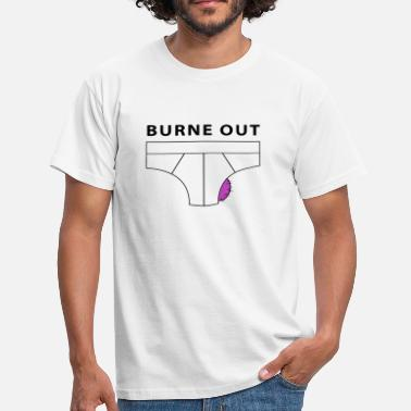 Bureau burne out - T-shirt Homme