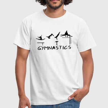 Gymnastics, Gymnast - Men's T-Shirt