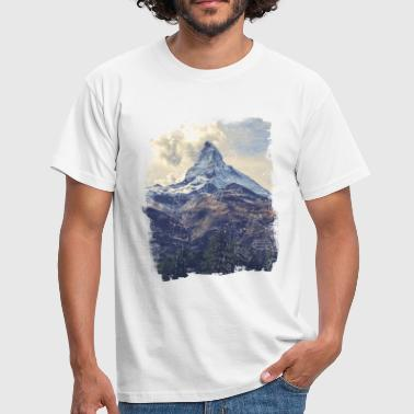 Nature Mountains & Diamonds - Men's T-Shirt