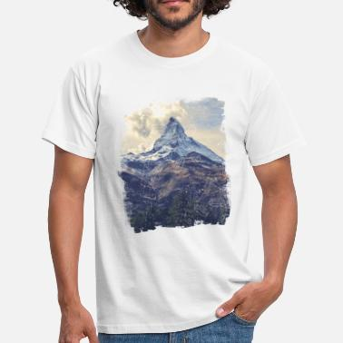 Nature Mountains & Diamonds - Mannen T-shirt
