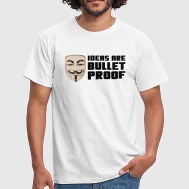 Mask - bulletproof - T-shirt Homme