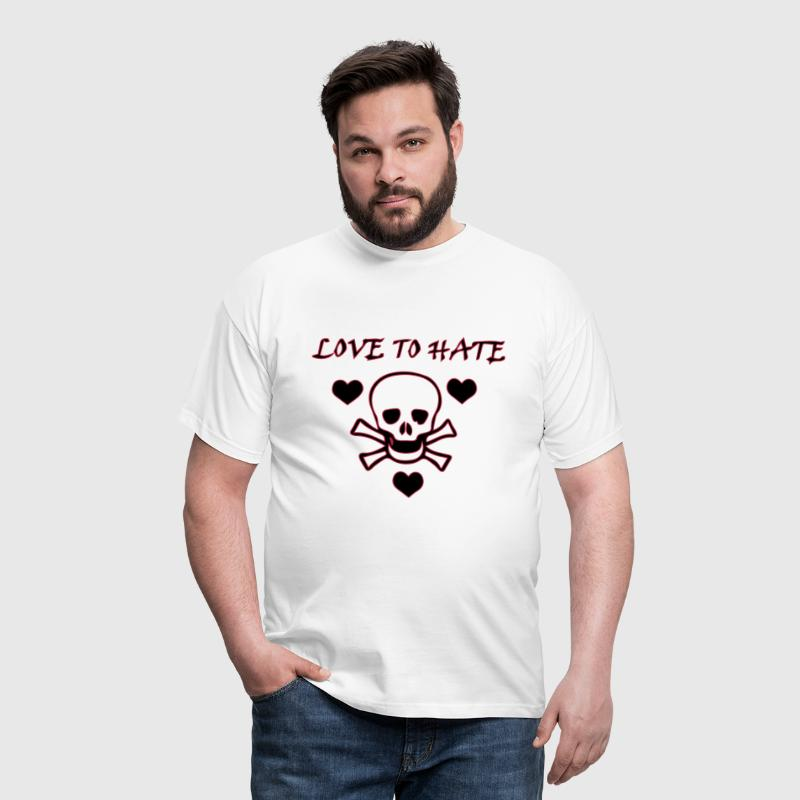Love to Hate - T-shirt herr