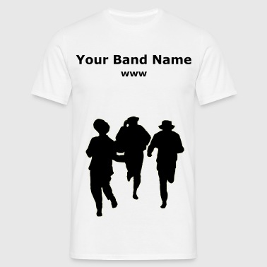 Dancers three male - Men's T-Shirt
