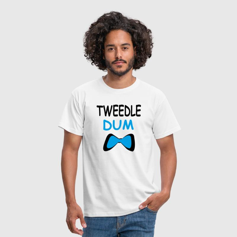 Tweedle dum - Men's T-Shirt