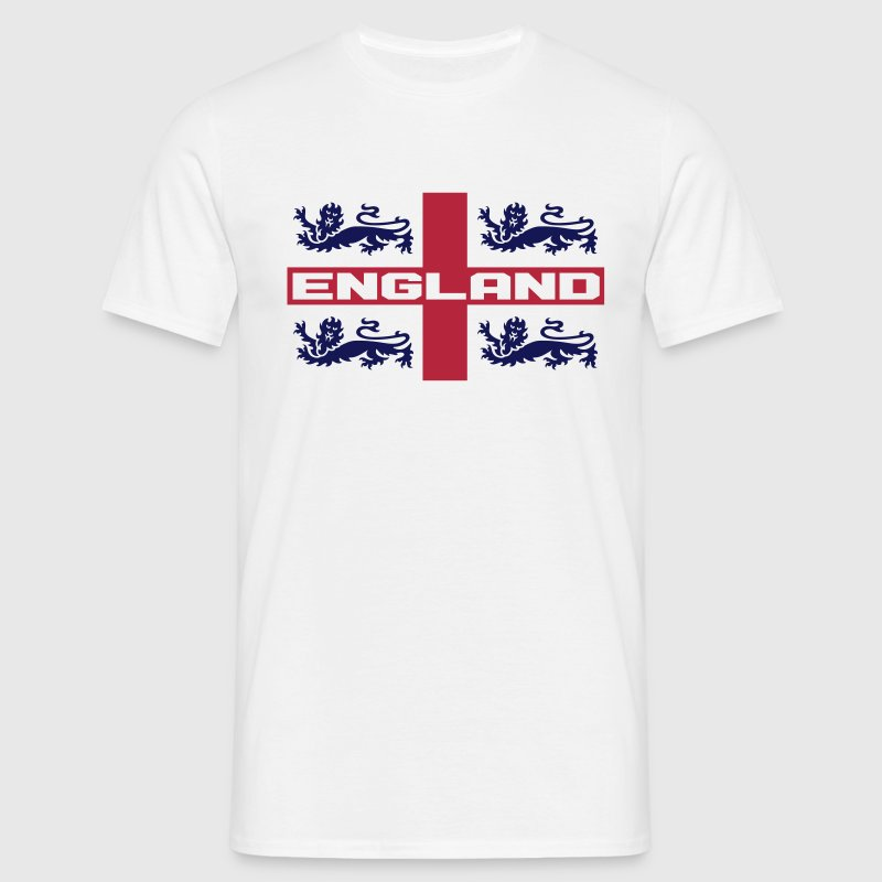4 LIONS CROSS ENGLAND - Men's T-Shirt