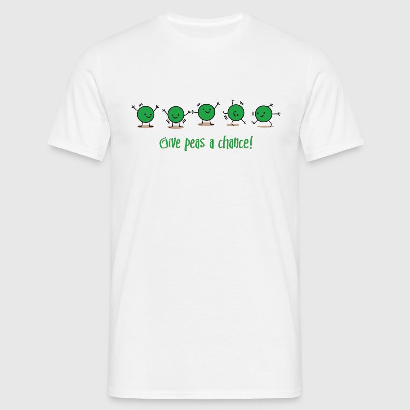 Give Peas a Chance! - Männer T-Shirt