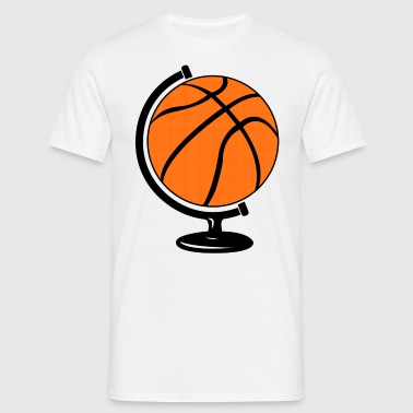Basketball globe  - T-shirt Homme