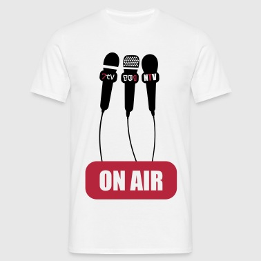 on air - Funny - Cool - Men's T-Shirt