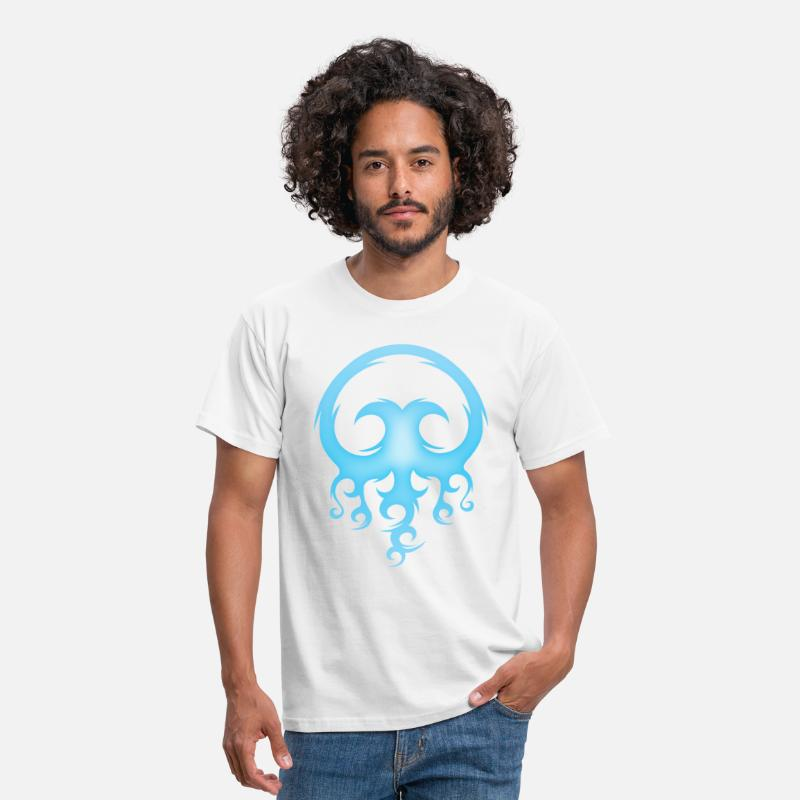Fish T-Shirts - Tribal Jelly - Men's T-Shirt white