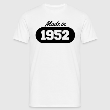Made in 1952 - Men's T-Shirt