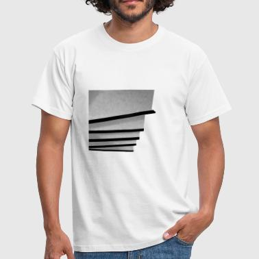 step by step - Männer T-Shirt