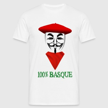 anonymous festayre basque Tee shirts - T-shirt Homme