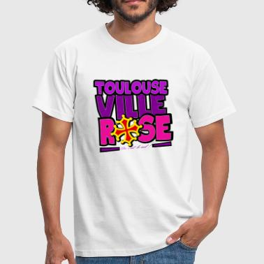 Toulouse - Ville rose - T-shirt Homme