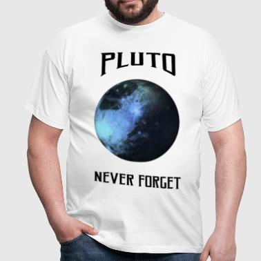 Science - Pluto never for - Maglietta da uomo