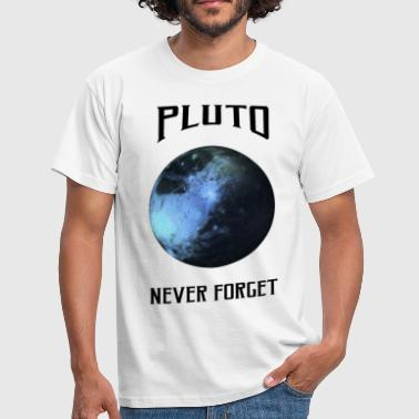 Science - Pluto never for - Camiseta hombre