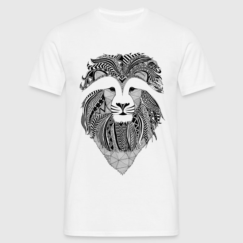 Lion dark  - T-shirt Homme