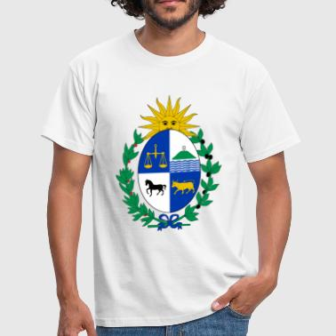 Coat of arms of Uruguay - Männer T-Shirt