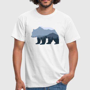Forest Bear - Men's T-Shirt