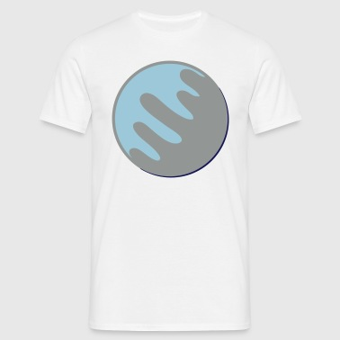 Neptune Icon - Men's T-Shirt