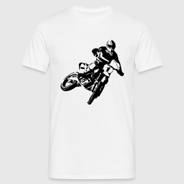 MotoCross - T-skjorte for menn