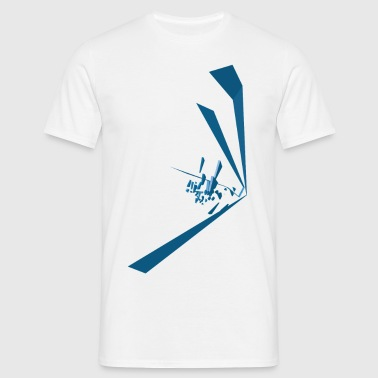 Blue Vector - Men's T-Shirt