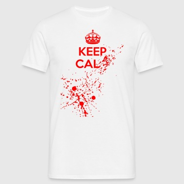 Keep Cal... - Men's T-Shirt