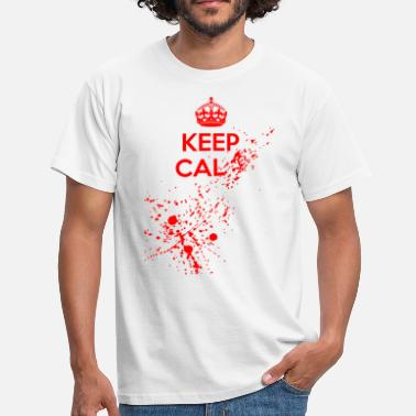 Keep Calm Keep Cal... - T-shirt Homme