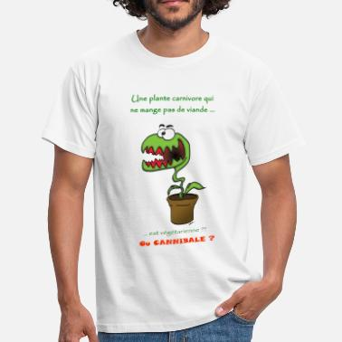 Cannibal Plante cannibale - T-shirt Homme