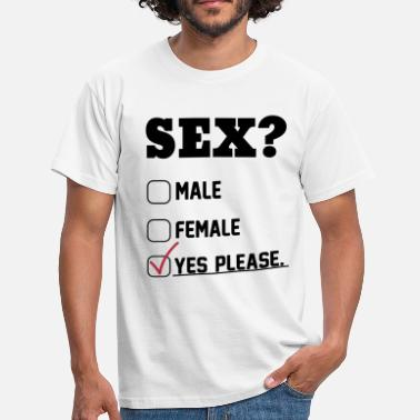 Austin Powers Sex Yes Please - Men's T-Shirt